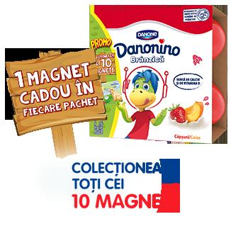1 magnet cadou în fiecare pachet